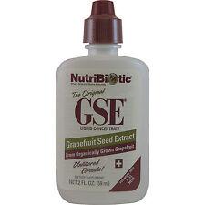 NutriBiotic Vegan GSE Grapefruit Seed Extract Liquid Concentrate, 2 Fl oz.