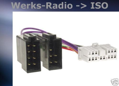 = Radioanschlusskabel Adapter Hyundai  321141-02