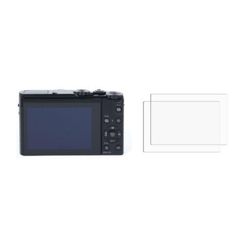 2 X nuevo Panasonic Lumix DMC LX15 Tapa Protector Protector de pantalla