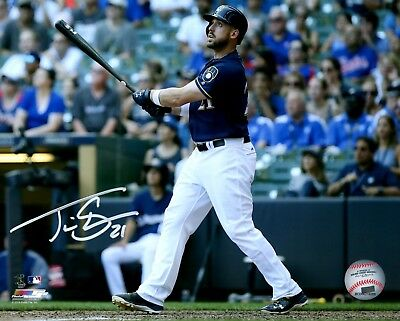 Brewers Infielder TRAVIS SHAW Signed 8x10 Photo #2 AUTO Photos Sports Mem, Cards & Fan Shop