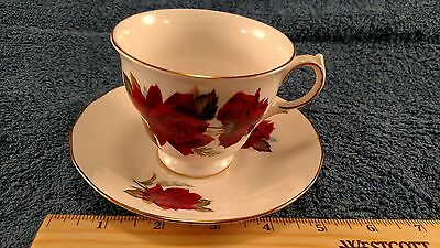 Rose Royal Vale Tea Cup and Saucer Pattern 7978