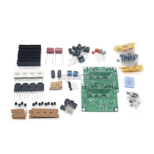Power Amp Board Kit Stero Amplifier Kit DIY New 100w+100w LJM-MX50 SE
