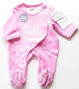 Courageux Nicki Combishort Taille 45 54 Vertbaudet Neuf Rose Velours Pyjama Bébé Newborn-afficher Le Titre D'origine