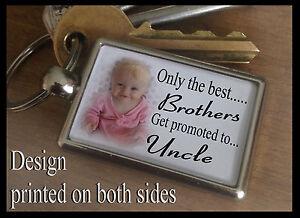 Image Is Loading Metal Keyring Key Fob Personalised Any Photo Birthday