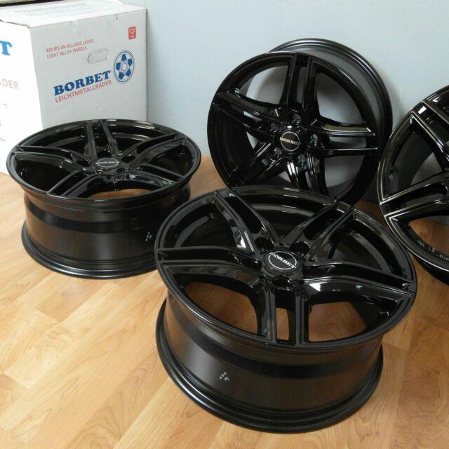 17 Zoll Alu Felgen BORBET XR Black für MINI F56 F55 F57 F54