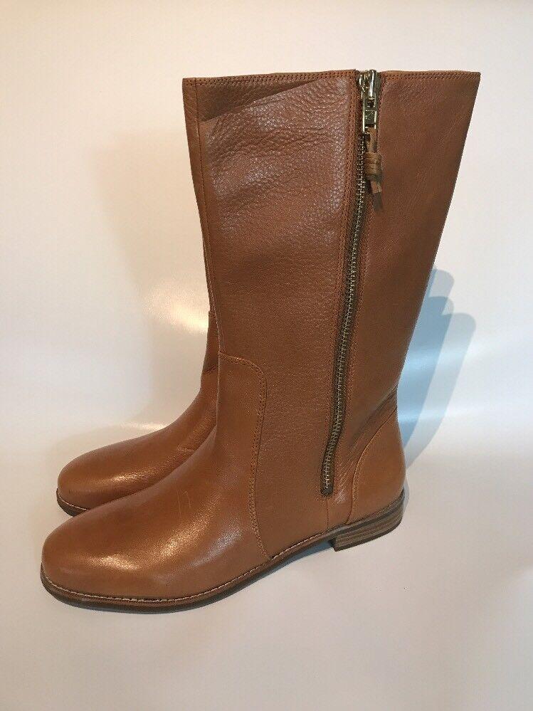 Sperry Top-Sider Zapatos De Arranque De Mujer Talla 11 11 11 Cuero Marrón Rodilla Alta  ventas directas de fábrica