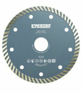 ERBAUER (DIA)125MM DIAMOND BLADE - 125mm x 22.2mm