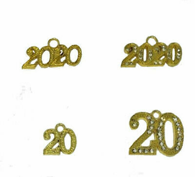 Year 2012 Bling Drop Date Charm for Graduation Tassel