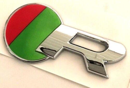 Decal x1 New R Emblem Replaces OEM Jaguar R Sport Trunk Fender Grille Badge