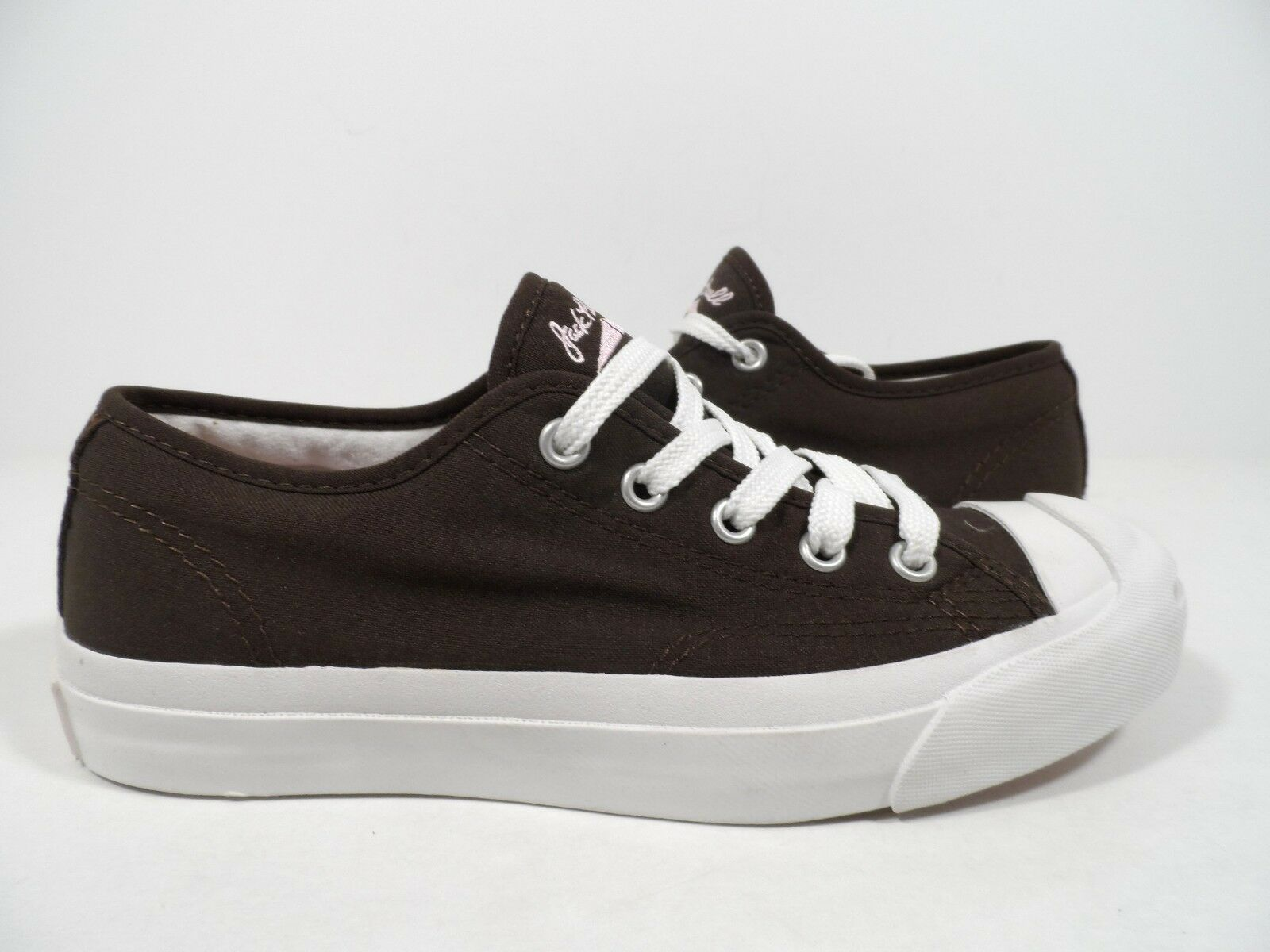 Converse Women's Jack Purcell CP Sneaker Chocolate White Size 5