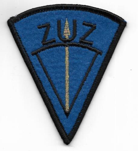 ZOLL  ZUZ Zentrale Unterstützungsgruppe Customs KLETT  Abzeichen Patch SEK ZTZ