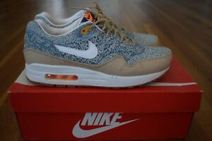 Details about Nike Air Max 1 Liberty London Blue Men's 9 OG everything! Rare! Great Condition