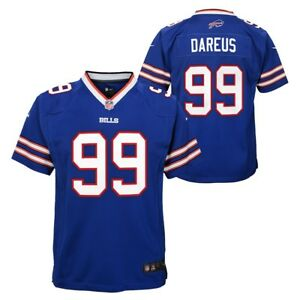 Details about Marcell Dareus Buffalo Bills NFL Nike Youth Blue Game Jersey