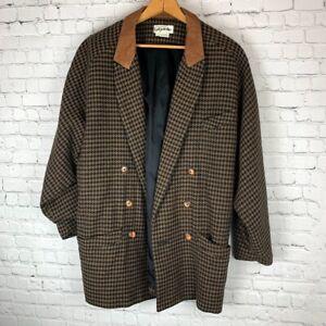 Margaret-Godfrey-Bagatelle-Vintage-Womens-Jacket-sz-Large-Houndstooth