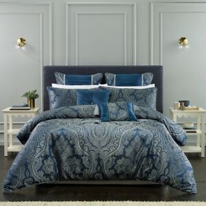 Bianca-Clementine-Quilt-Cover-Set-Navy-in-All-Sizes