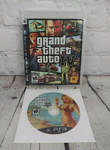Grand-Theft-Auto-V-amp-IV-Sony-PlayStation-3-PS3-GTA-4-5-Video-Game-Lot