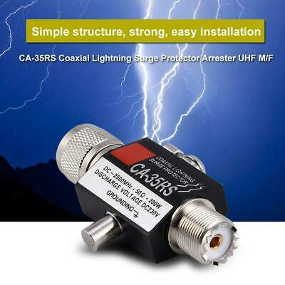 Coaxial Lightning Arrester PL259 UHF male to female surge protector for Ham//CB