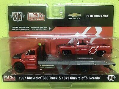 NEW M2 Machines Autozone 1979 Chevrolet Scottsdale Truck Stock Custom FREE SHIP