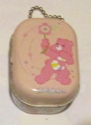 Care Bears Hopeful Heart Bear Tin Box with Chain Stash Keeper