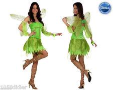 Déguisement Femme Fée Clochette Vert XL 44 Costume Adulte Dessin Animé film
