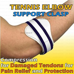 TENNIS-Golfeurs-COUDE-Douleur-epidcondylite-Support-Compression-Therapie