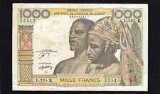 West African States 1000 Francs Senegal P-703Kn, F