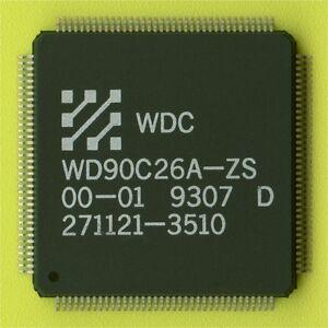 6× WD90C26A VGA/LCD FLAT PANEL VIDEO CONTROLLER+DRAM+OSCILLATOR QFP-144 SMD SMT†