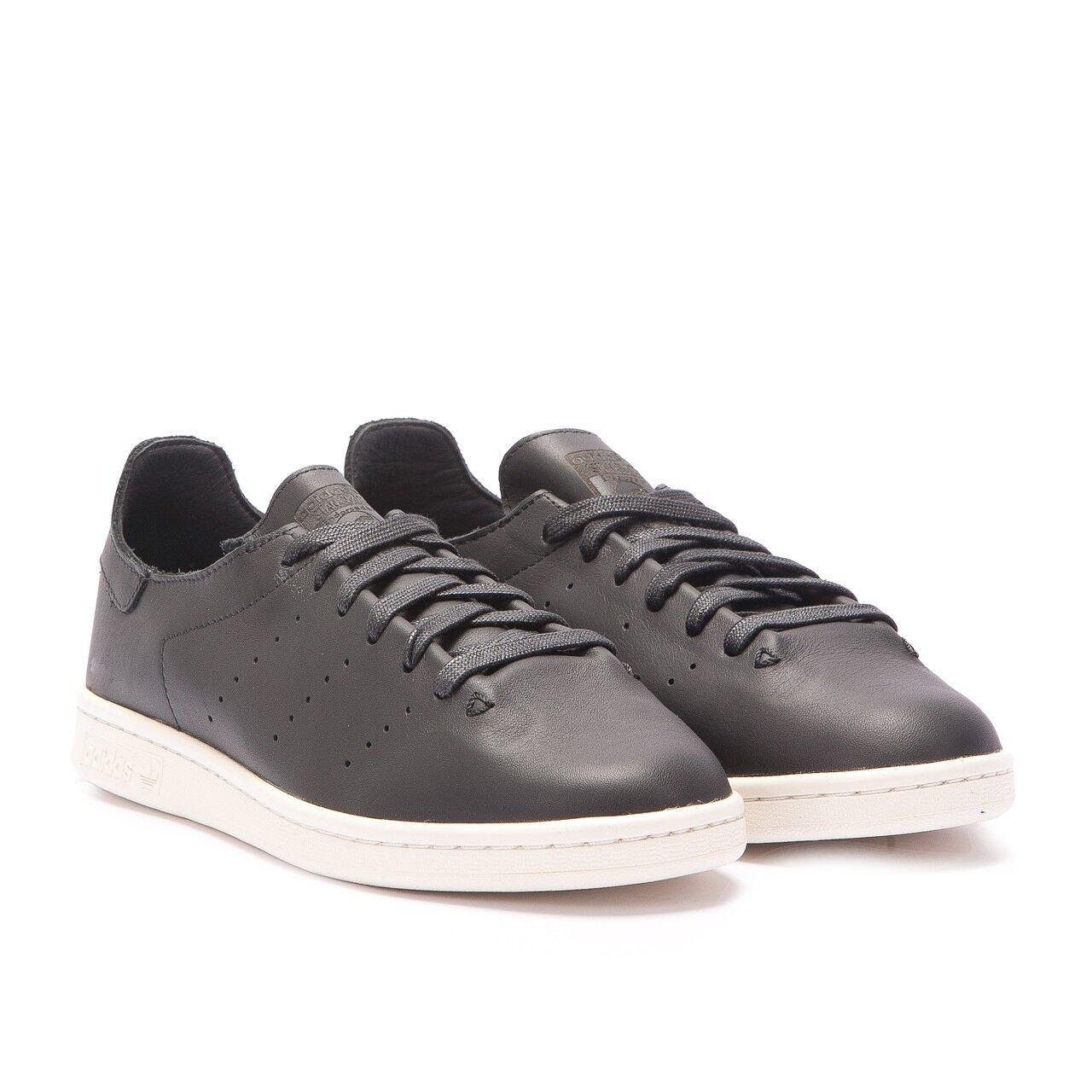 Adidas Originals Stan Smith Calcetín De Cuero Tamaños Tamaños Cuero de 4 a 11 disponibles Negro AQ4788 2a7682