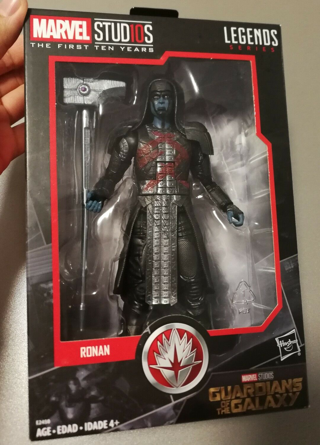 Marvel Legends Guardians of the Galaxy 10th Anniversary Ronan the Accuser 6 inch