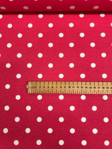 Polka Dot 100/% Cotton Fabric Vintage Lifestyle Dotty Spots Shabby 140cm Wide