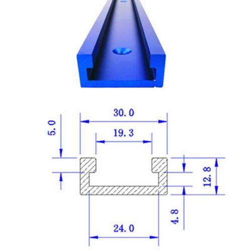 500-800mm T-Nut T-Track Führungsschiene  T-Nut Werkzeuge Für Holzbearbeitung