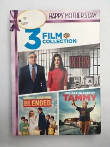 Details about 3 FILM COLLECTION - THE INTERN, BLENDED, TAMMY (DVD New) Free  Shipping