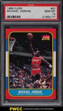 1986 Fleer Basketball Michael Jordan ROOKIE RC #57 PSA 10 GEM MINT (PWCC)