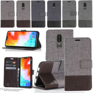 hot sale online e9653 727c6 Details about Magnetic Leather Case For Oneplus 3T/ 5T Card Wallet  Shockproof Flip Cover Stand