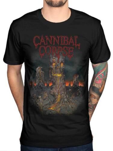 Officiel Cannibal corpse t-shirt domaine du squelette 3 groupe de death metal sanguinaire