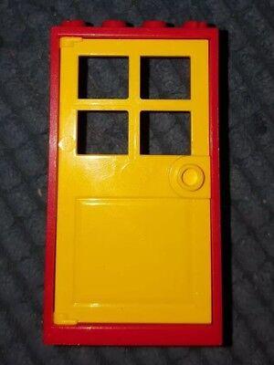 Free p /& p 10 x New Lego 60596 Yellow door window frames