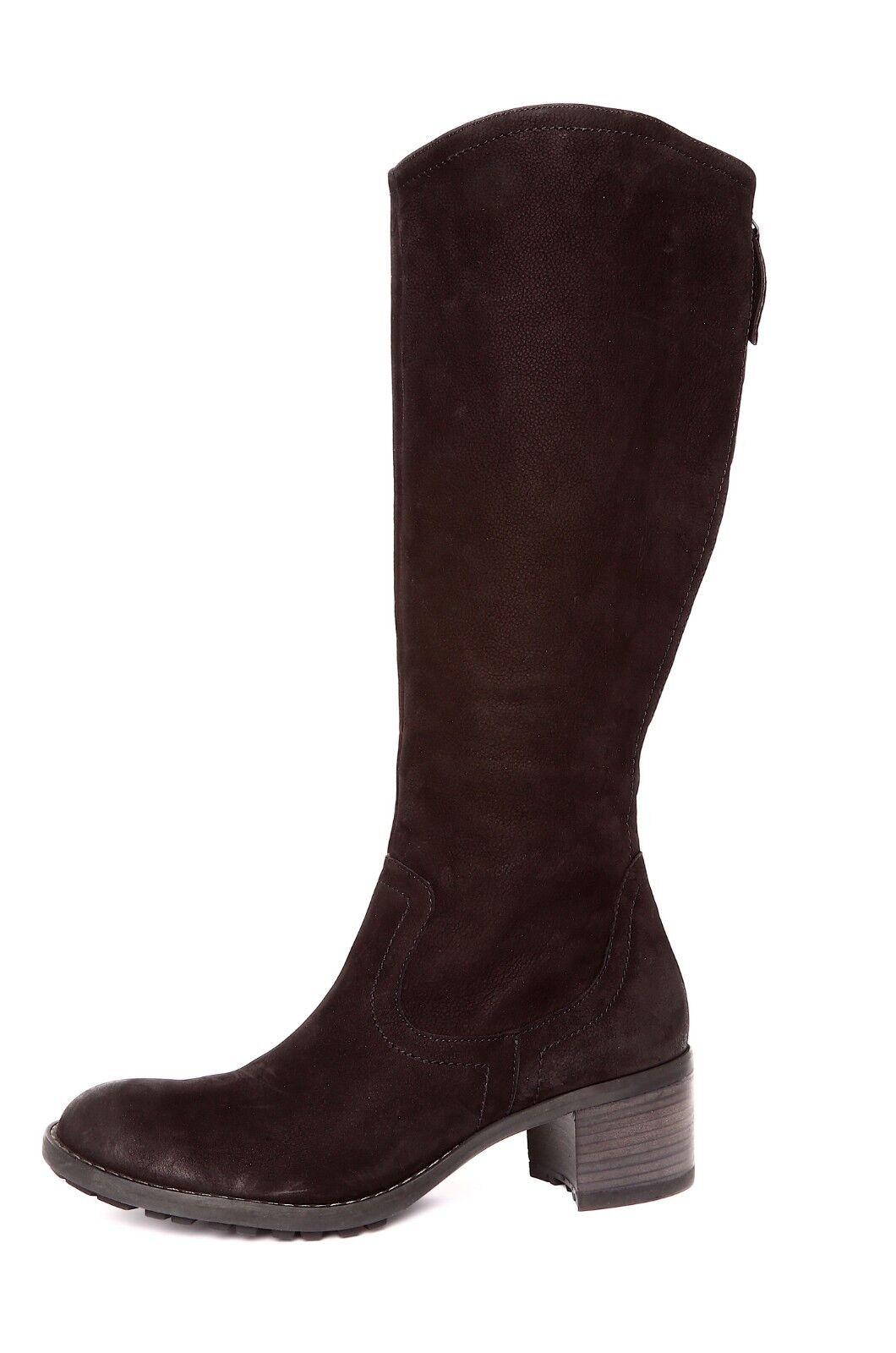 Paul Green Women's Black Side Zipper Boot Sz 6.5 UK 3241