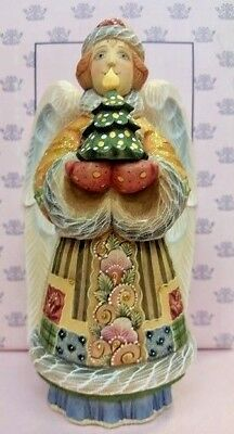 DeBrekhtTHE GIFT ANGEL WITH TREE FIGURINE ✪NEW✪ 55224-2 DerEvo Collection G
