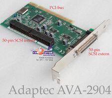 Controlador SCSI Adaptec ava-2904 PCI aic-7856t ava2904 1640906 DAT escáner jazz
