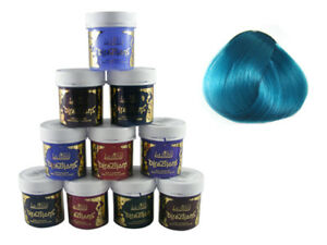 Tintura de pelo color turquesa