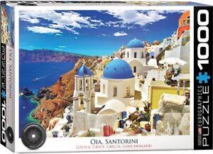 Eurographics Puzzle 1000 Piece Jigsaw - Oia Santorini Greece EG60000944