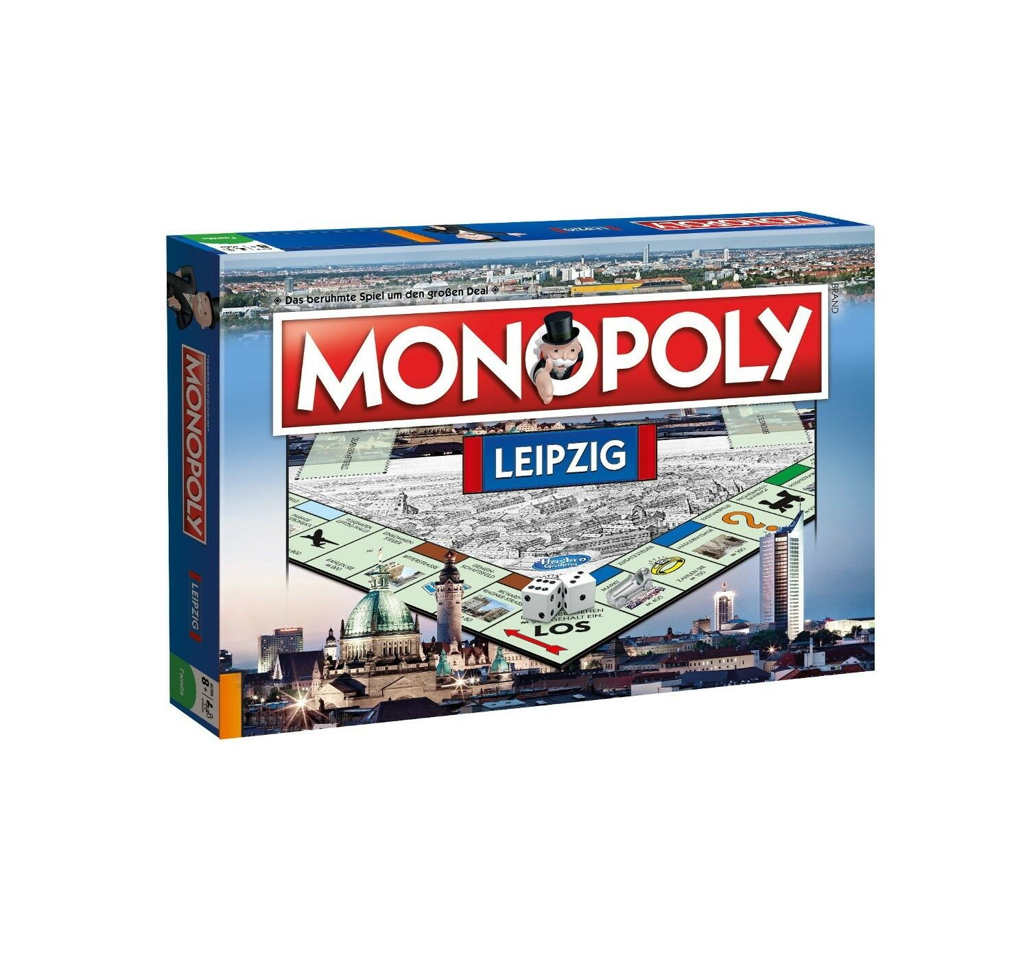 Original Monopoly Leipzig City Edition Cityedition City Game