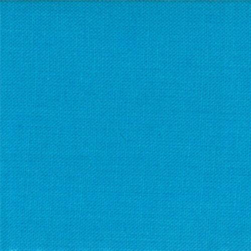 Blue Quilting ... Sold Per 1//4 Metre Moda Fabric Bella Solids Bright Turquoise