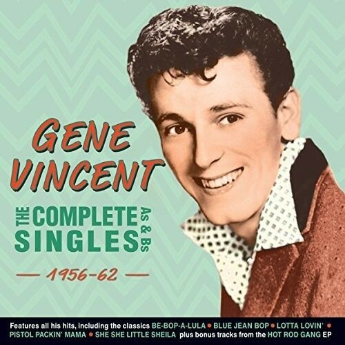 Gene Vincent - Complete Singles As & Bs 1956-62 [New CD]