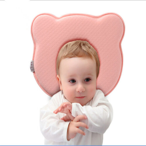 Prevent Flat Head Infant Baby Soft Pillow Memory Foam Cushion Sleeping Support L