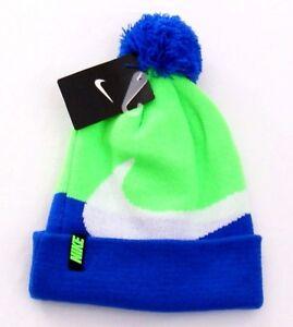 premium selection 5e75d aba75 Image is loading Nike-Multi-color-Knit-Cuff-Beanie-Skull-Cap-