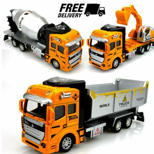 Toys for Boys Truck Car Construction Vehicles 2 3 4 5 6 7 8 9 10 Years Age Gifts