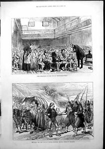 Antique-Old-Print-War-Last-Days-Plevna-Breakfast-Poor-Whitecross-Street-1878