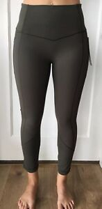 a302a3c381 Lululemon Size 12 All the Right Places Crop II Green DKOV Pant ...