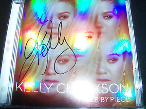 Kelly-Clarkson-Piece-By-Piece-Australia-Signed-Autographed-CD-New